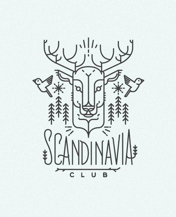 SCANDINAVIA CLUB. Illustrations on Behance