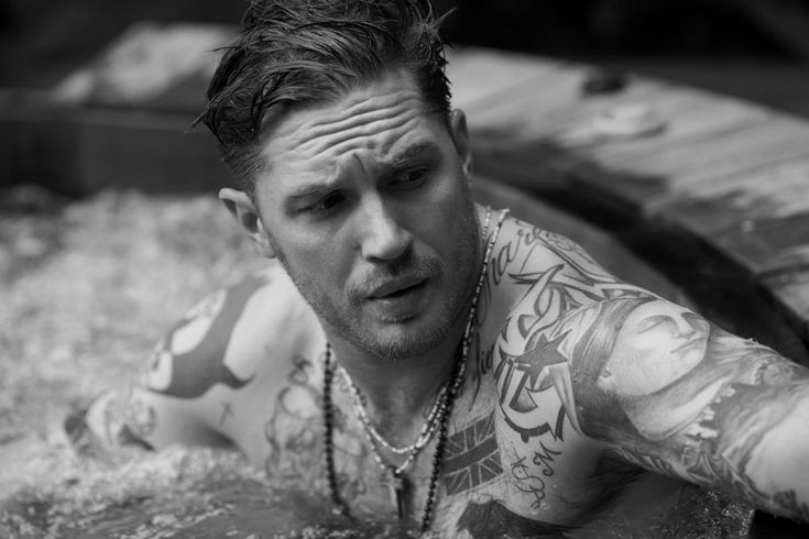I love Greg Williams. And do you want to know why? Because this dude thought it would be a good idea to stick Tom Hardy shirtless in a hot tub and photograph it!