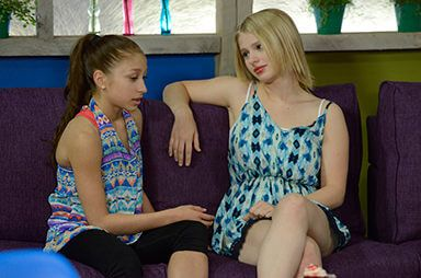 Emily and jtrouper Richelle-the next step step season 3