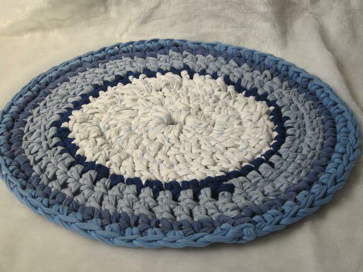 Mejores 346 im genes de tejido alfombras rag rugs en for Tejidos de alfombras