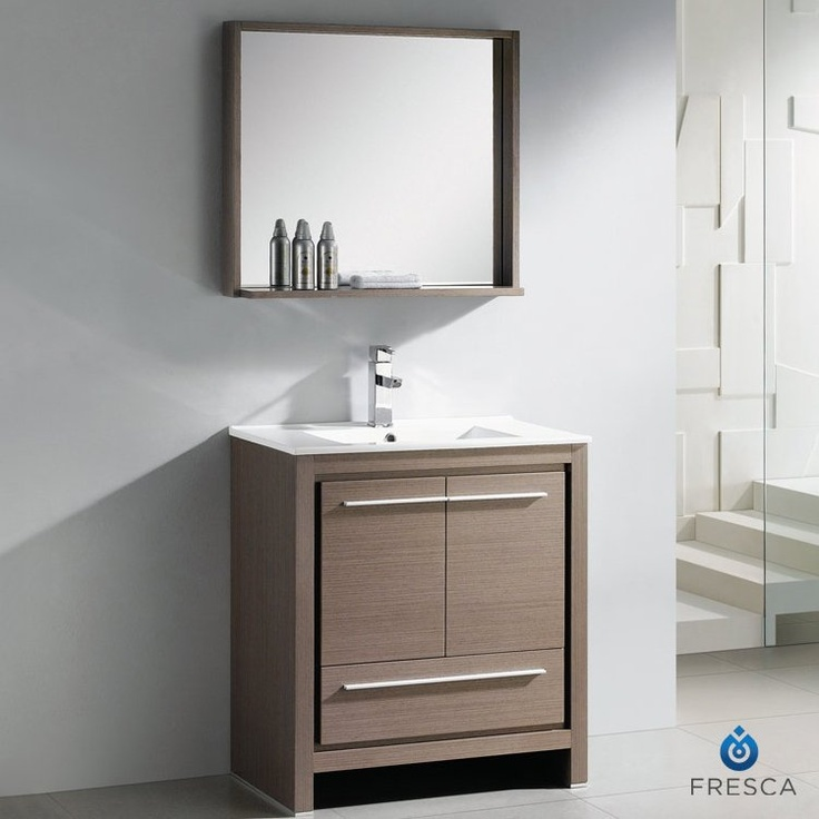 Photo Gallery In Website Fresca Allier Inch Wenge Brown Modern Bathroom Vanity With Mirror Home Depot Canada
