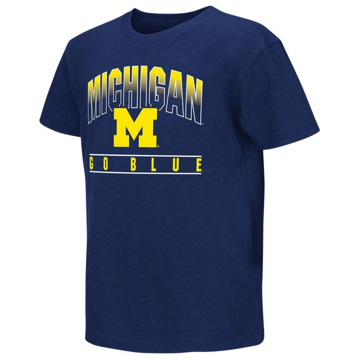 University of Michigan Wolverines Youth Golden Boy Short Sleeve Tee