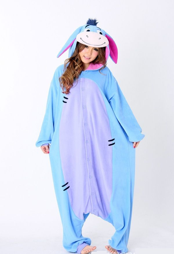 nice Free of charge Delivery Brand new Unisex Males Ladies Grownup Pajamas Cosplay Outfit Pet Onesie Eeyore Donkey Sleepwear In addition Dimension Utes Michael M XL