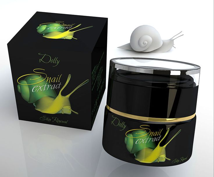 Dolly snail extract | Label design