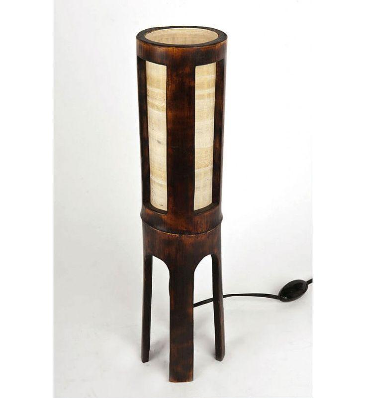 Bedside lamp, wooden lamp