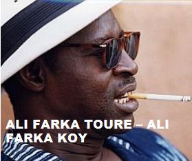 TODAY (March 7, 8 years ago) Ali Ibrahim 'Farka' Touré the guitar player from Mali, passed away. He is remembered. To watch his 'VIDEO PORTRAIT'  'Ali Farka Toure  - Ali Farka Koy' in a large format, to hear  'YOUR BEST OF  Ali Farka Toure  ' on Spotify go to  >>http://go.rvj.pm/by