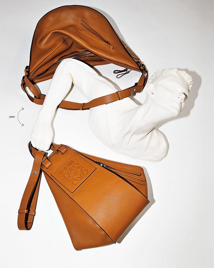 ロエベの最新バッグが魅力的すぎる──ハンモックを持つ?|ワードローブ(メンズファッションアイテム)|GQ JAPAN