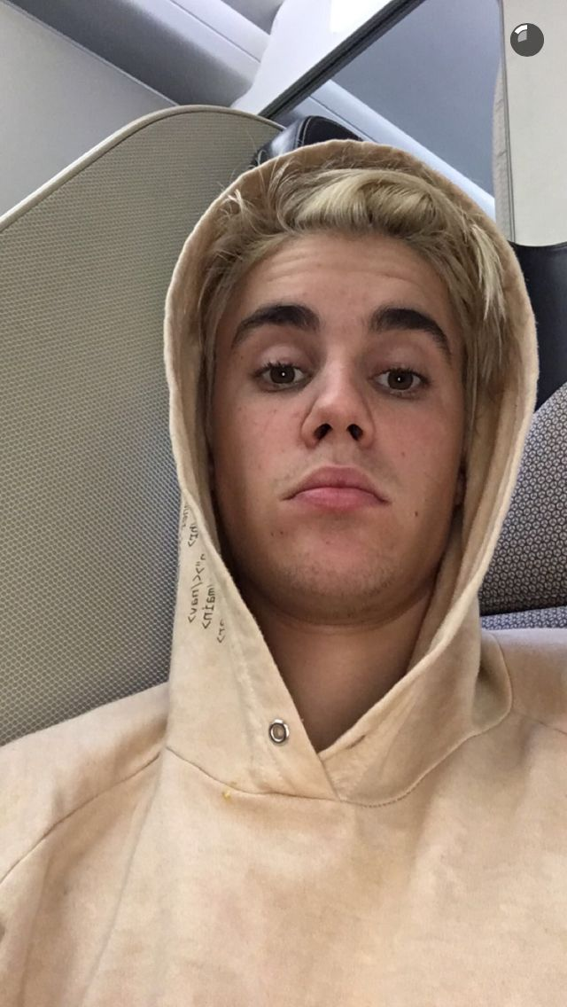 Picture from Justin's snapchat