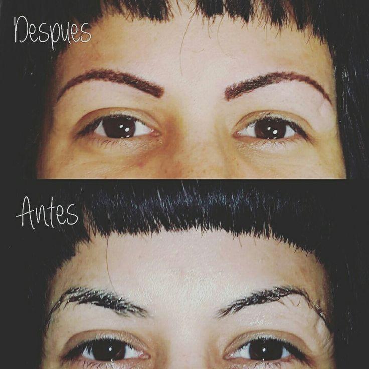 Dermopigmentacion de cejas groomyng tattoo studio por Griselda Tatuadora 1559454688