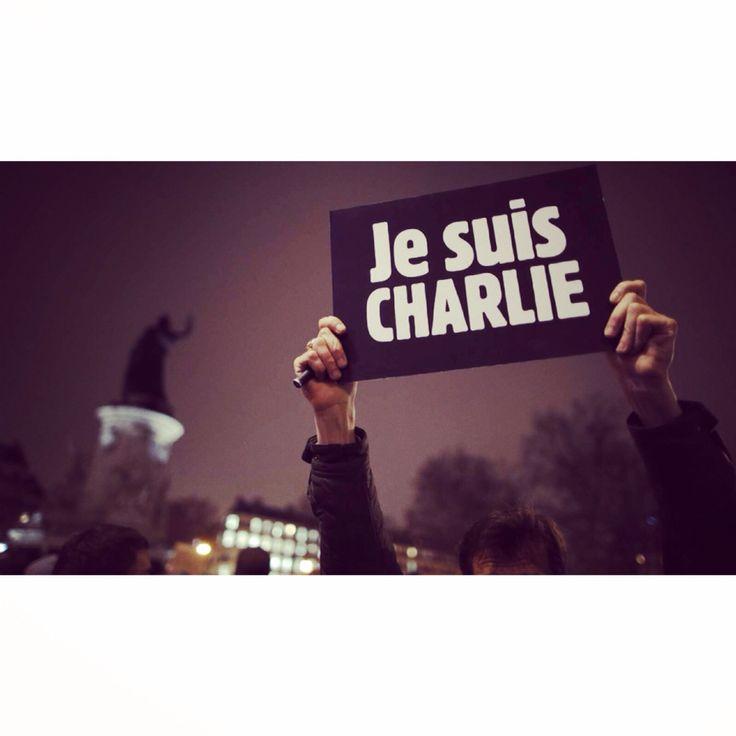 #jesuischarlie #libertè #liberididire #iononhopaura