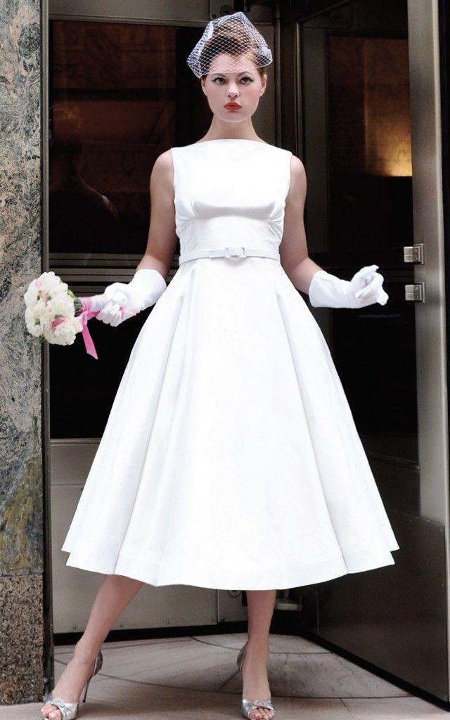 528 best retro wedding images on Pinterest | Wedding frocks ...