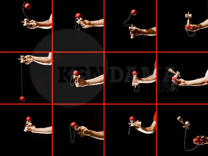 How to play kendama - to include in the box so the kids know how to play with it!
