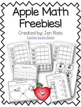These activities will go great for your Apple Week!Apple JacksPlace Value with tens and oneSkip CountingApple Worm MathCheck out THIS blogpost to see how I use them!I have more apple activities in my Hands-On Learning with Apples Pack and my September CCS Center packs for Grades 1 and 2