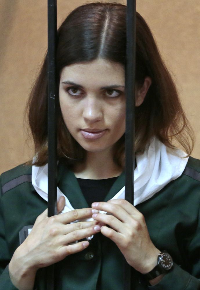 Jailed Pussy Riot band member Nadezhda Tolokonnikova is on her way to a new penal colony in Siberia, her husband said Tuesday, following fears after two weeks without information about her whereabouts.