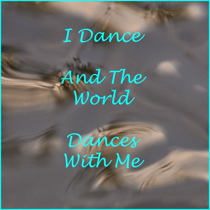affirmation card - I hope you dance
