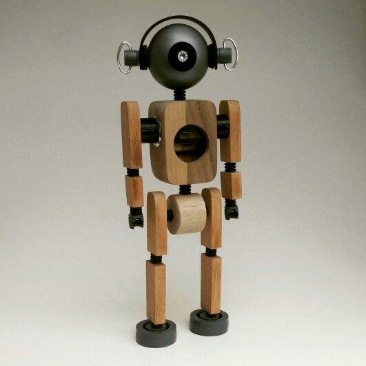 #wood#robot#cyklop
