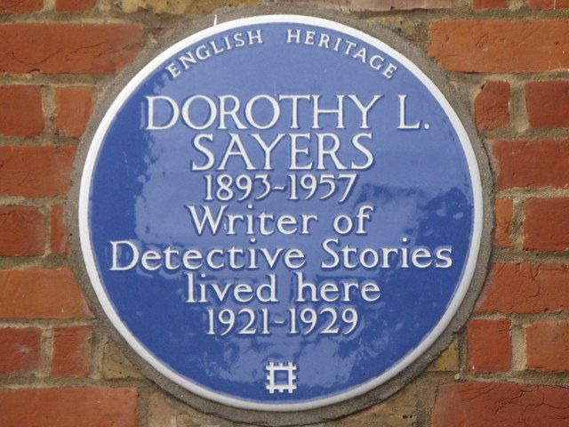 Dorothy L Sayers, a favorite author