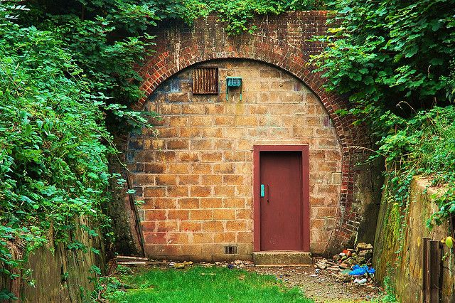 Mysterious door by Thiefree, via Flickr