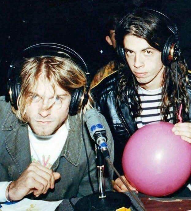 Kurt Cobain & Dave Grohl-Nirvana