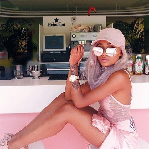 When in doubt always pink  Shop our CONSTANTINA sunglasses co
