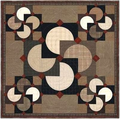 Quilt Patterns Using Circles | Miscellaneous Quilt Patterns - Ericas Craft Sewing Center