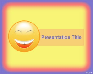 Happiness PowerPoint Template is a free shiny yellow template for PowerPoint presentations that you can download for birthday cards and anniversary PowerPoint templates