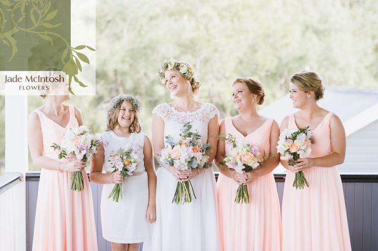 Pretty maids all in a row! www.jademcintoshflowers.com.au www.nicholasjoel.com