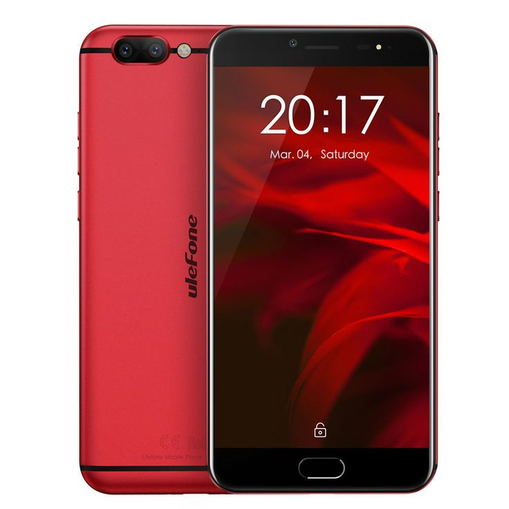 "Ulefone MIX 2 5.7"" HD+ LTE Android 7.0 Smartphone Dual CAM 13MP 2GB+16GB 3300MAH"
