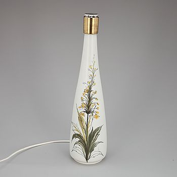 1500 euro LAMPUNJALKA, keramiikkaa, Hilkka-Liisa Ahola, Arabia, signerad. 1960-luku. - Bukowskis