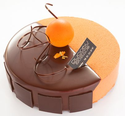 Orange Entremet