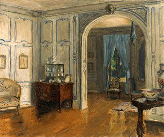 Elsie DeWolfe Interiors | Elsie de Wolfe's Drawing Room, 123 East 55th Street, New York by ...