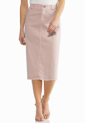efd37c2967 Plus Size Blush Denim Skirt Skirts Cato Fashions in 2019   2019 cato ...