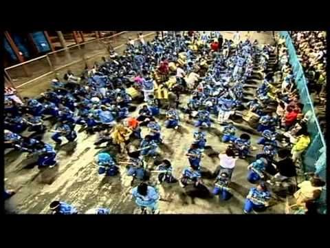 """B = BRAZIL! One of the most rhythmic nations on Earth, home to a vibrant mix of drums and musical styles. Check out this video featuring some of Rio de Janeiro's finest Samba Schools preparing for the annual Carnival celebration. What can we say but """"WOW!"""" Video: Bateria de Escola de Samba"""