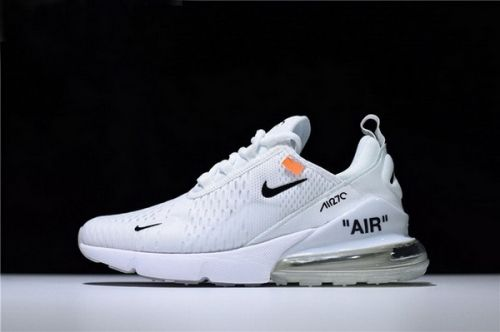 Genuine Mens and WMNS Off White x Nike Air Max 270 Triple