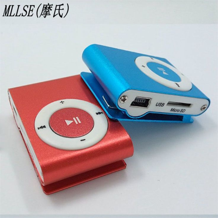 Protable USB MP3 Sports Player Mp3 Music Player With Clip Mp3 Player Micro TF Card Slot. Click visit to buy
