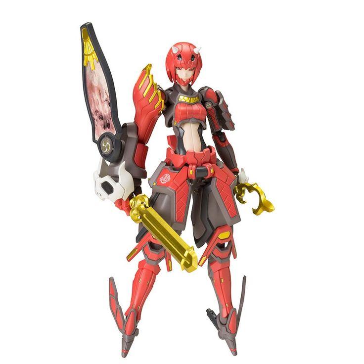 Phantasy Star Online 2 - Shiki Akaonihime 1/12 Plastic Model by Kotobukiya (Sep 2015) #phantasystar #shiki #shikiakaonihime #plasticmodel #kotobukiya
