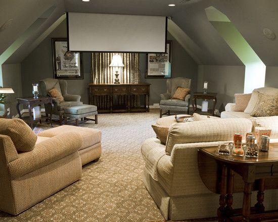 best 25+ bonus room design ideas on pinterest | basement tv rooms