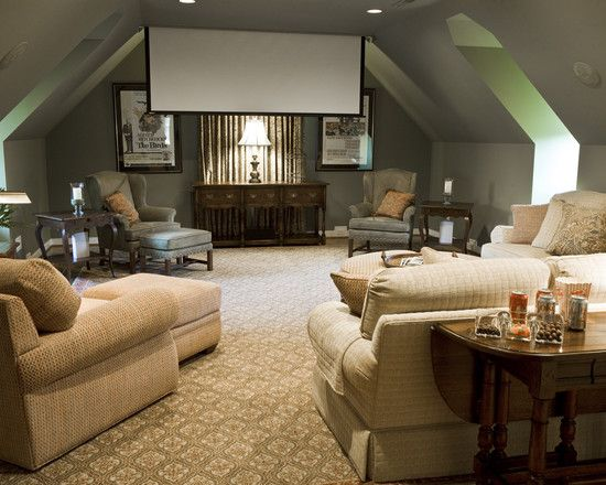 best 25+ attic media room ideas on pinterest | attic furniture