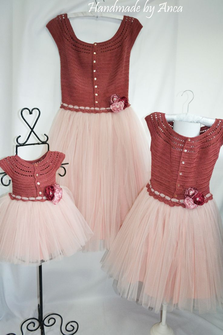 Mother-daughter dresses https://www.facebook.com/pages/Handmade-by-Anca/674803519245683?ref=hl