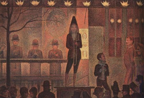 Circus Sideshow - Georges Seurat