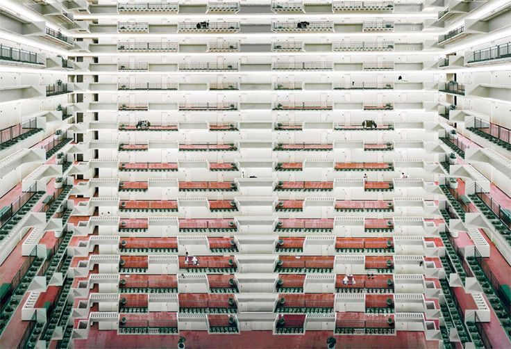Andreas Gursky Atlanta 1996 C-Print 180 x 253 cm