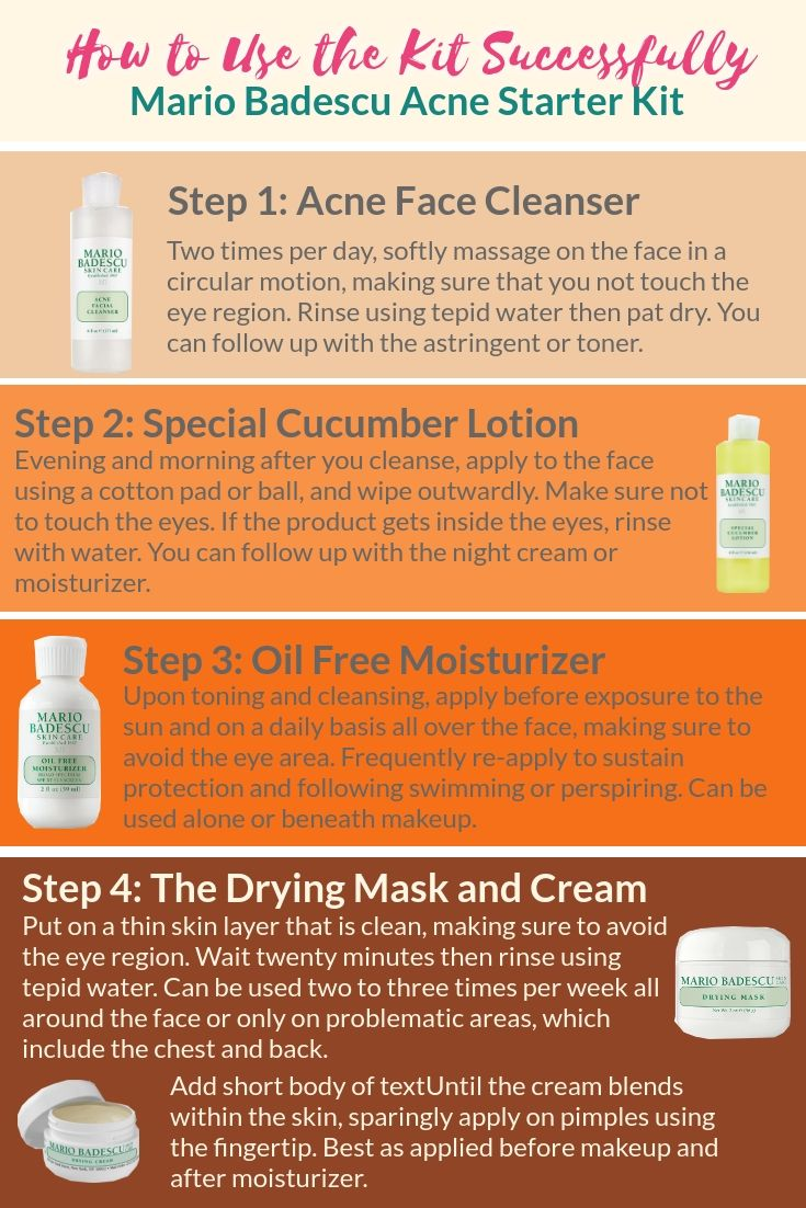 Mario Badescu Acne Starter Kit Review A Look At What Is Inside