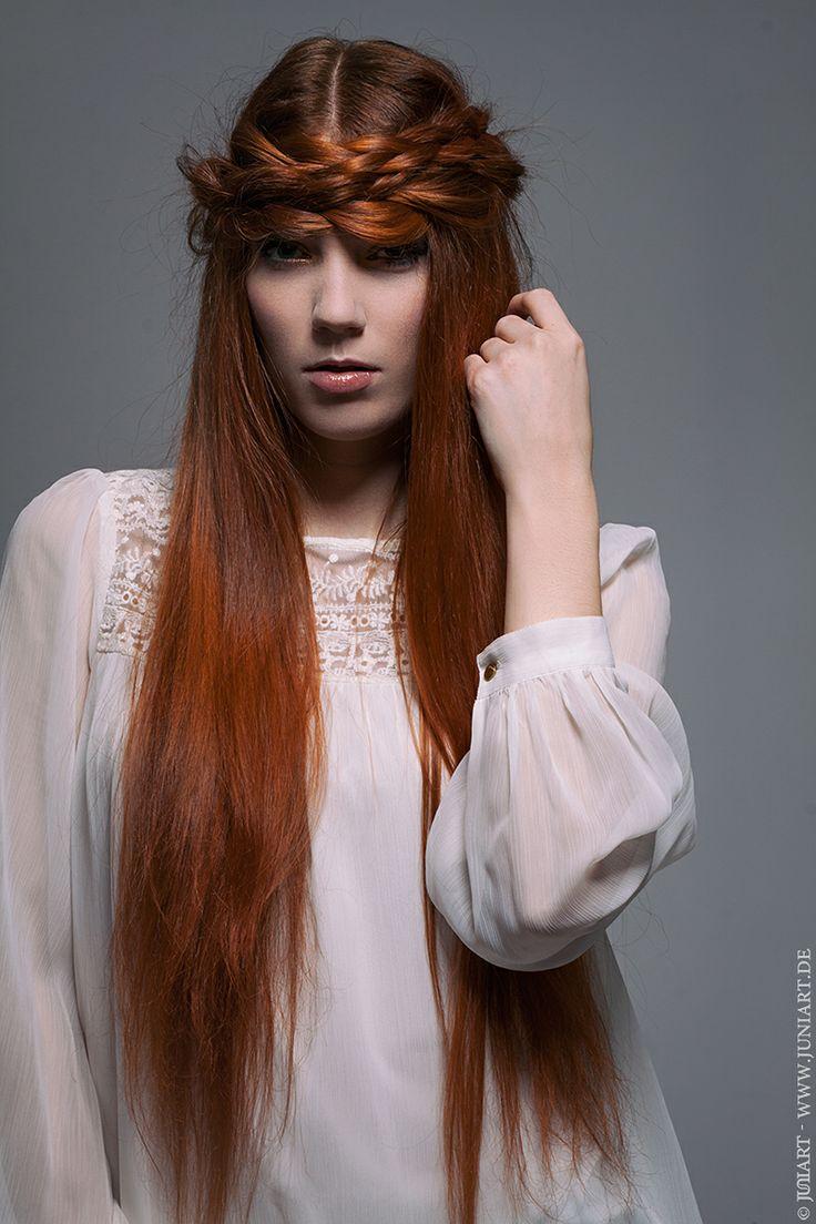 red hair beauty Hair&Make-up: CLAUDIA NESTOLA hair&make-up www.claudianestola.de Photo&Editing: Julia - JuNi Art www.juniart.de Model: Kim Sommer