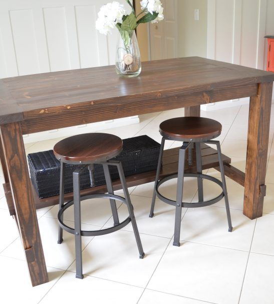 Build Kitchen Island Table: 35 Best Farmhouse Furniture Images On Pinterest
