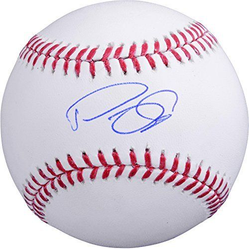 Domingo Santana Houston Astros Autographed Baseball - Fanatics Authentic Certified - Autographed Baseballs