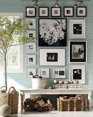 RECIBIDORES.. ENTRADAS.. HALLWAYS SHABBY CHIC | Decorar tu casa es facilisimo.com