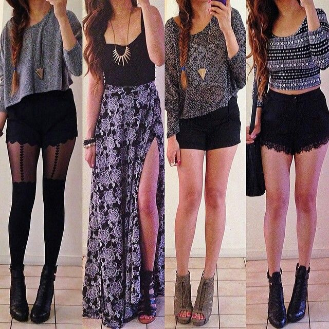 Trying to change my wardrobe to be a little more stylish and I am loving all of these outfits