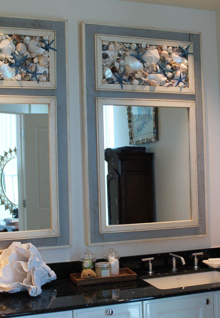 Seashell Mirrors by MY HONEYPICKLES www.etsy.com/shop/myhoneypickles