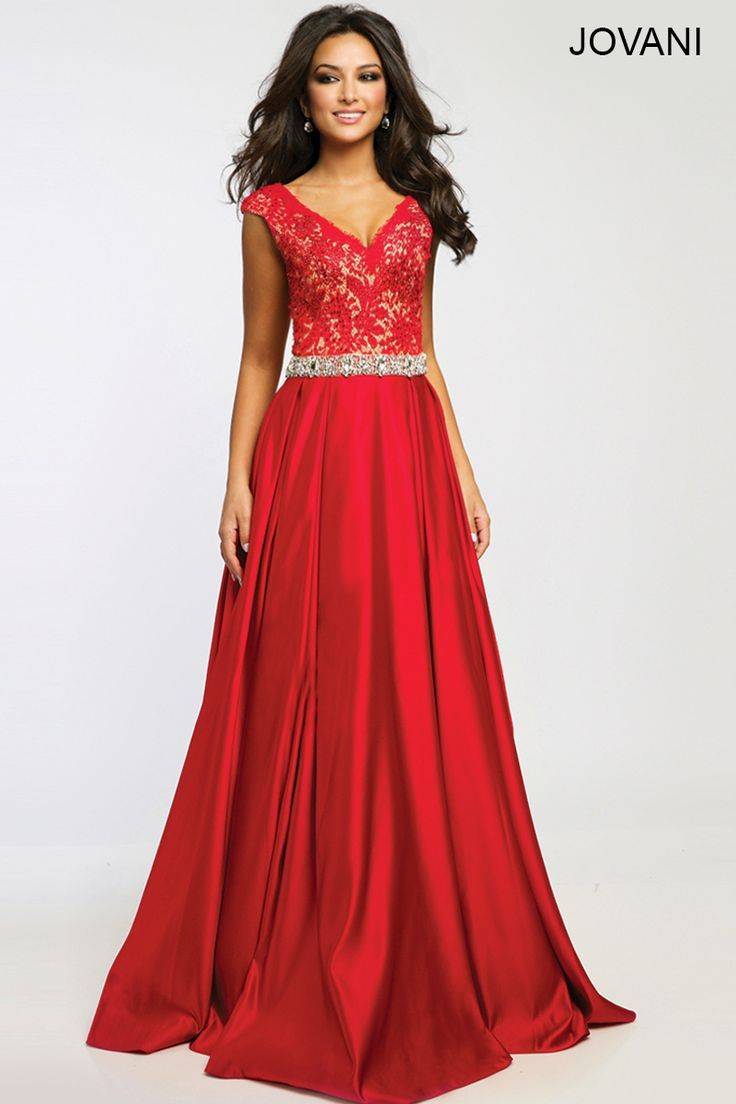 Jovani red dress 90640 county