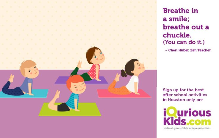 Maintain your child's inner peace by reducing his/her academic pressure through Yoga. Search for yoga activities in your area, #RaisingHealthyKids #KidsCreativePrograms